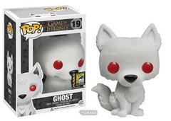 Game of Thrones Ghost Convention Exclusive Flocked Pop Vinyl 19