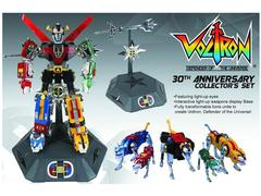 Voltron 30th Anniversary Die-Cast Light-Up Action Figure Set With Sound.