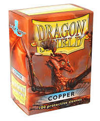 Dragon Shield Sleeves Copper Standard Size 100CT