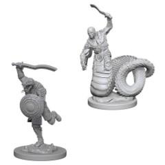 Dungeons & Dragons Nolzur's Marvelous Unpainted Miniatures: Yuan-Ti Malisons