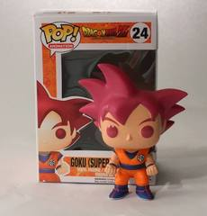 Dragon Ball Z Goku Super Saiyan God FUNimation Exclusive Pop Vinyl 24
