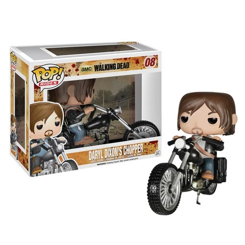 Walking Dead Daryl Dixon with Chopper Pop! Vinyl Vehicle 08