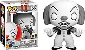 It Black and White Pennywise RICC Exclusive Pop Vinyl Figure