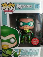 Green Arrow Metallic Exclusive Pop Vinyl Figure 15