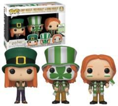 Harry Potter Ginny Weasley, Fred Weasley & George Weasley 3-Pack Spring Convention Exclusive Pop! Vinyl Figure