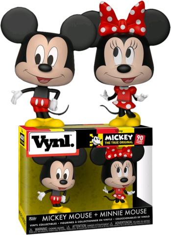 Mickey Mouse and Minnie Mouse VYNL 2 Pack