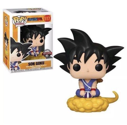 Dragon Ball Son Goku on Nimbus Gamestop Exclusive Pop Vinyl Figure