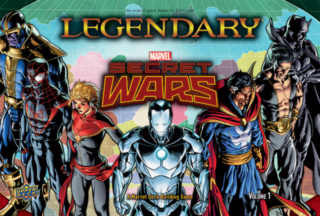 Legendary Marvel Secret Wars Vol. 1 Deck Building Card Game