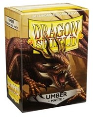 Dragon Shield Sleeves Matte Umber Standard Size 100CT
