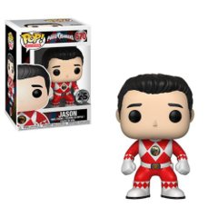 Power Rangers Red Ranger No Helmet Pop! Vinyl Figure