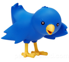 Ollie the Twitteriffic Bird Mascot