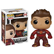 TV The Flash Unmasked Flash Exclusive Pop Vinyl Figure