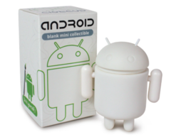 Android DIY/Blank Mini Figure by Andrew Bell