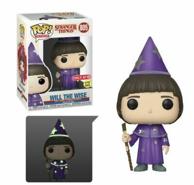 Stranger Things 3 Will the Wise Glow in the Dark Exclusive Pop! Vinyl Figure