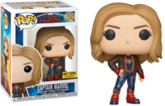 Captain Marvel Captain Marvel with Jacket Exclusive Pop! Vinyl Figure