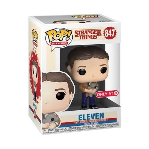 Stranger Things Season 3 Eleven with Teddy Bear Exclusive Pop! Vinyl Figure