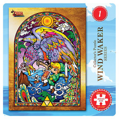 The Legend of Zelda The Wind Waker 550-Piece Puzzle