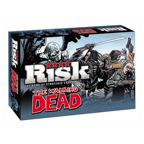 The Walking Dead Comic Survival Edition Risk Board Game