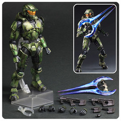 Halo 2 Master Chief Anniversary Edition Play Arts Kai Action Figure