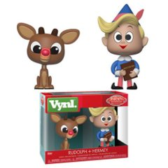Rudolph and Hermie VYNL Figure 2-Pack