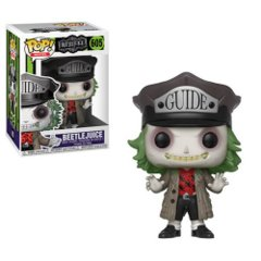 Beetlejuice with Hat Pop! Vinyl Figure