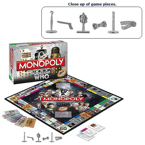 Doctor Who Collectors Edition Monopoly Board Game