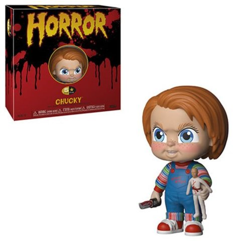 Childs Play Chucky 5 Star Vinyl Figure
