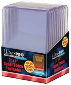 Ultra Pro 3 x 4 Super Thick Toploaders
