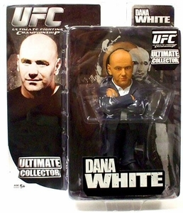 UFC Dana White Black Suit Ultimate Collector Series 4 Figure