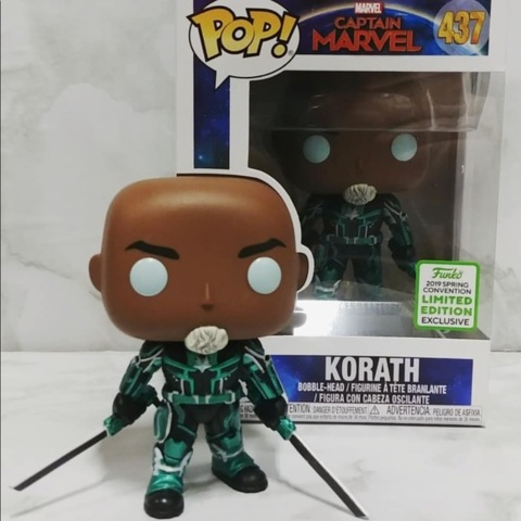 Captain Marvel Korath Spring Convention Exclusive Pop! Vinyl Figure