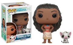 Moana and Pua Pop! Vinyl Figure