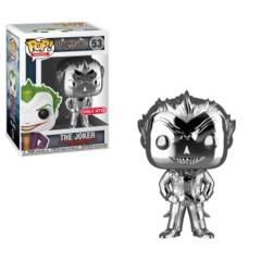 Batman Arkham Asylum The Joker Orange Chrome Target Exclusive Pop Vinyl Figure