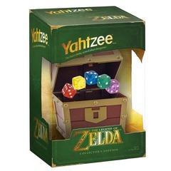 The Legend of Zelda Yahtzee Game