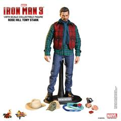 Iron Man 3 Movie Masterpiece 1/6 Scale Tony Stark Rose Hill