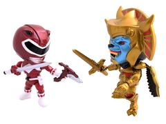 Loyal Subjects SDCC 2015 Exclusive Metallic Red Ranger With Goldar Mini Two Pack