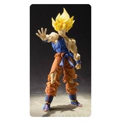 Dragon Ball Z Super Saiyan Goku Super Warrior Awakening SH Figuarts Action Figure