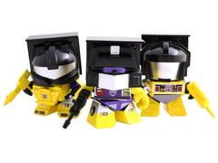 SDCC 2015 Exclusive Yellow Constructicon Mini Three Pack