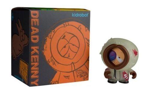 South Park Kidrobot GID Dead Kenny NYCC Exclusive 3 Figure