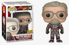Ant-Man & The Wasp Hank Pym Unmasked Exclusive Pop! Vinyl Figure
