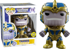 Guardians of the Galaxy GID Thanos Exclusive Pop Vinyl Figure