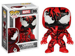 Marvel Carnage Hot Topic Exclusive Pop Vinyl Figure