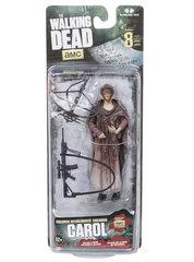 The Walking Dead Bloody Carol Series 8 GameStop Excvlusive McFarlane Action Figure