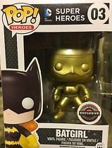 DC Batgirl Gold Exclusive Golden Pop Vinyl Figure 03