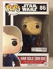 Star Wars The Force Awakens Han Solo [Snow Gear] Loot Crate Exclusive Pop Vinyl Figure