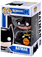 DC Universe Chase Edition Metallic Batman Pop Vinyl Figure