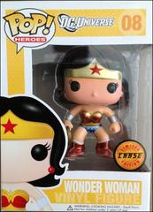 DC Super Herpes Chase Edition Metallic Wonder Woman Pop Vinyl Figure