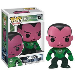 Green Lantern Sinestro Pop Vinyl Figure