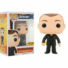 Doctor Who Ninth Doctor with Banana Hot Topic Exclusive Pop Vinyl Figure