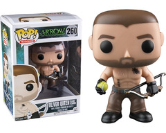 Arrow Oliver Queen Island Scarred Pop Vinyl Figure
