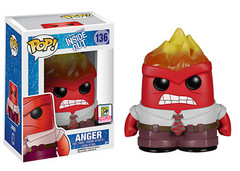 Inside Out Flames Anger Pop Vinyl Figure